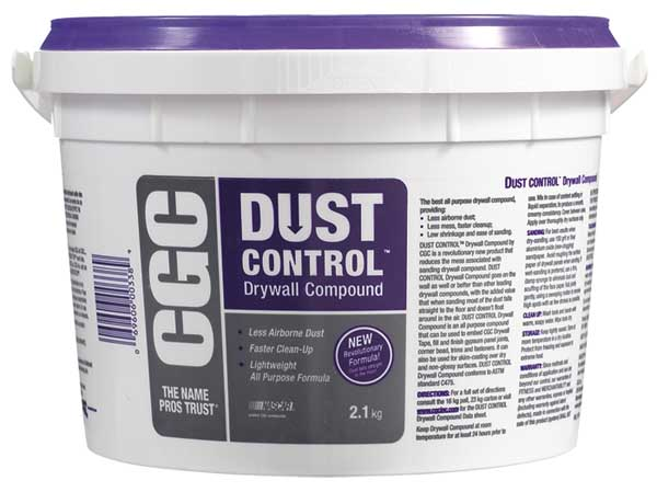Drywall Compound Dust Control 2l H Amp S Building Supplies
