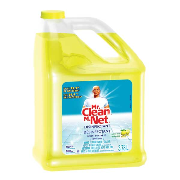 Mr Clean Multi Surface Disinfectant Liquid Summer Citrus