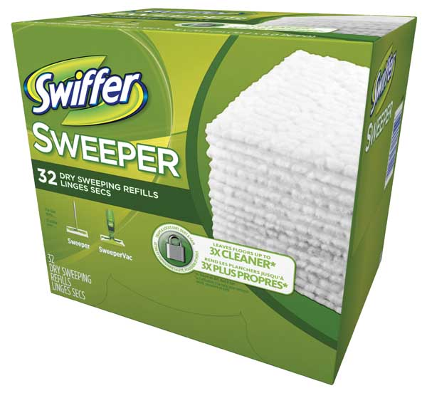 Swiffer Sweeper Dry Pad Refills Unscented 32 Box H Amp S