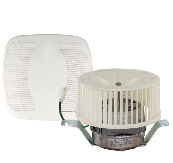 Bfq110 air king replacement bathroom exhaust fan h s for Part f bathroom fan