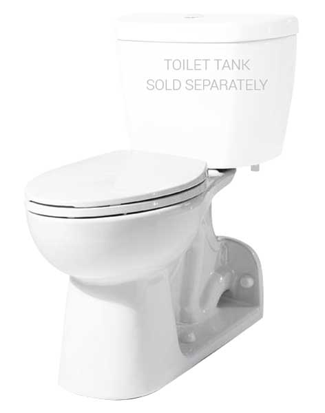H Amp H Proficiency Ultra He Elongated Toilet Bowl With Rear