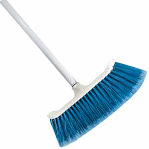 Curved Magnetic Broom 12 Quot W C W 48 Quot Handle H Amp S